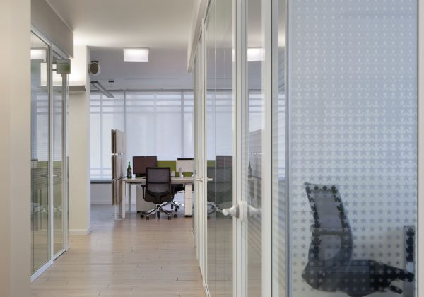 Aluminium partition walls and glass offices Heineken - Truelight