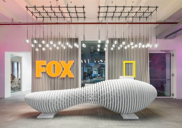 fox offices mobile internal walls - Evolvinwall