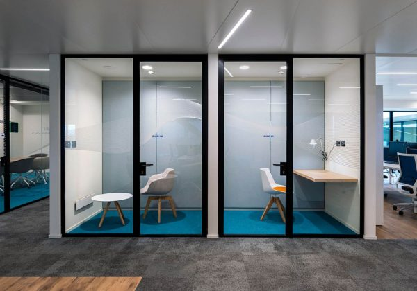 Fameccanica - Truelight aluminium office partition walls